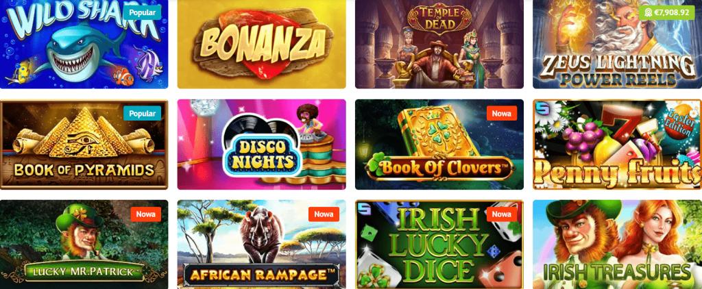 Spielautomaten für Spiele